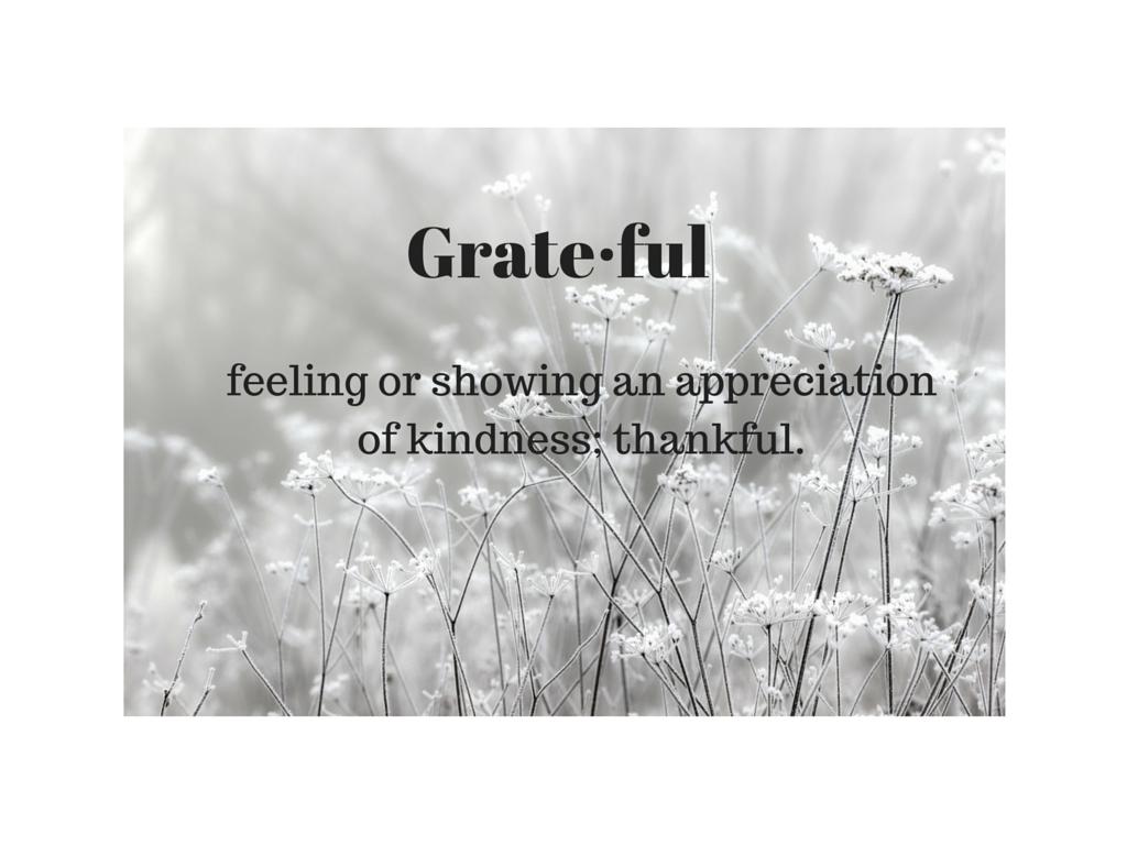 grate·ful
