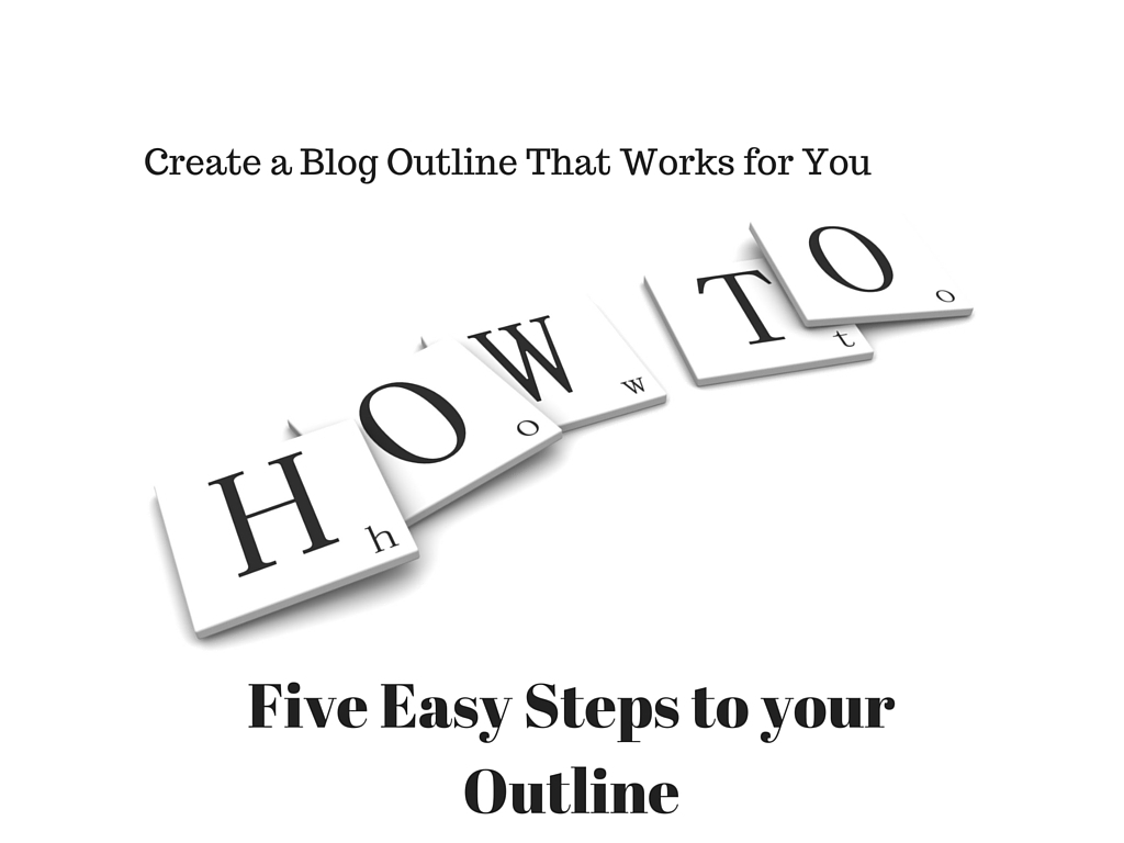How to Blog Outline
